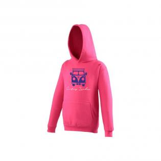 Sweat Capuche Rose Van Enfant