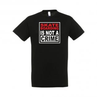 Skateboarding is not a crime Noir