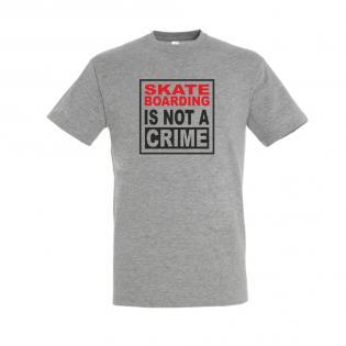 Skateboarding is not a crime Gris