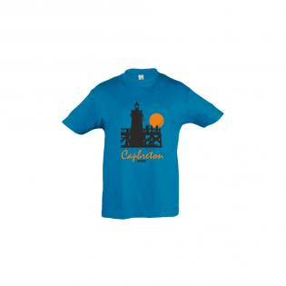 T-shirt bleu Phare