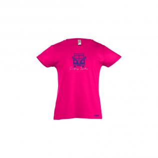 T-shirt fuschia Van