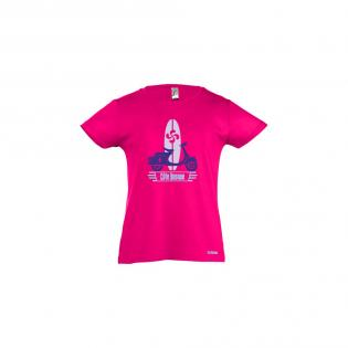 T-shirt fuschia Scoot B