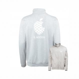 Sweat-zip gris ilandes