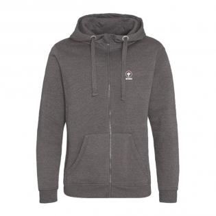 Zip-capuche Charcoal