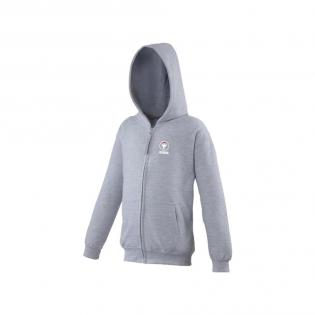 Zip-capuche Kid gris
